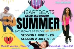 HeARTbeats VIRTUAL Summer Sessions