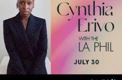 Cynthia Erivo with the LA Phil