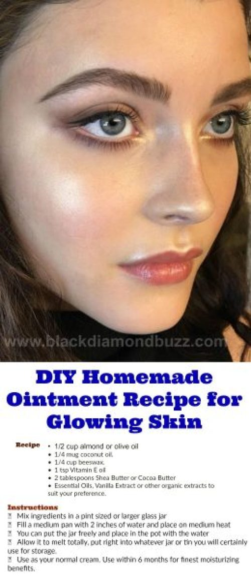 DIY Homemade Ointment Recipe for Glowing Skin