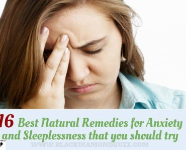 Best Natural Cures for Anxiety Disorder and Insomnia