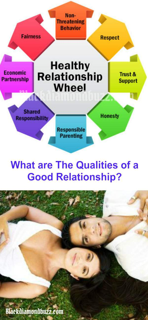 What are the qualities of a good relationship