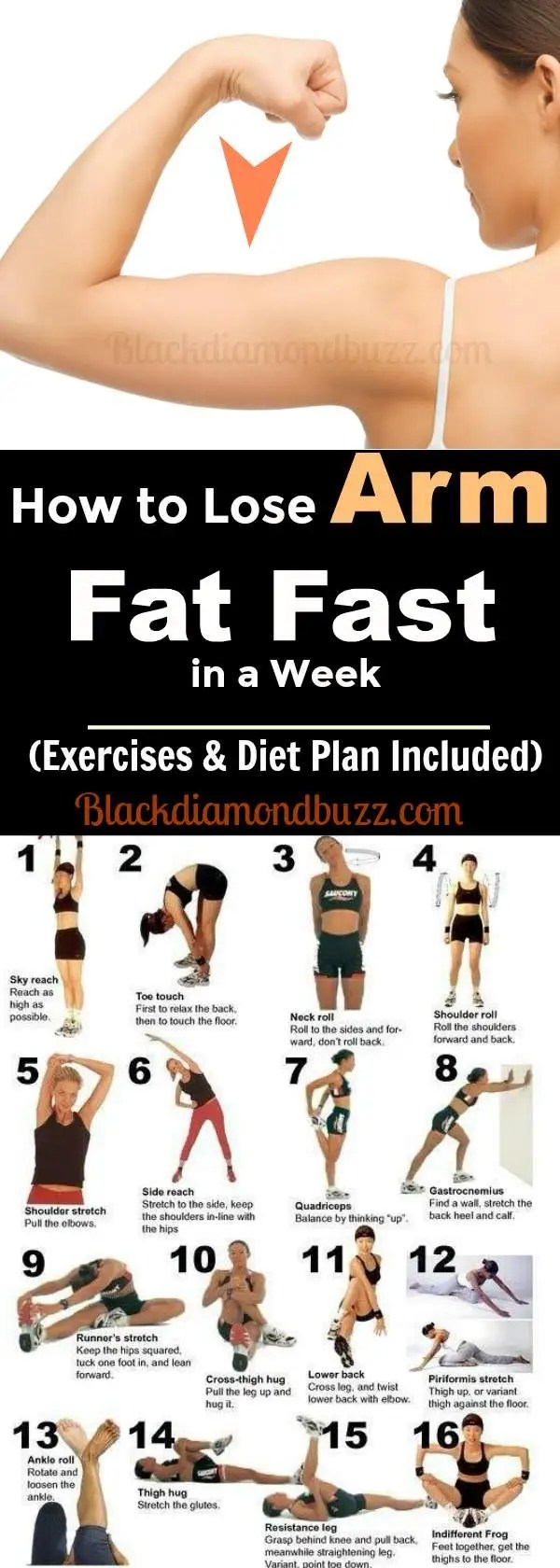 How to Lose Arm Fat Fast in a Week