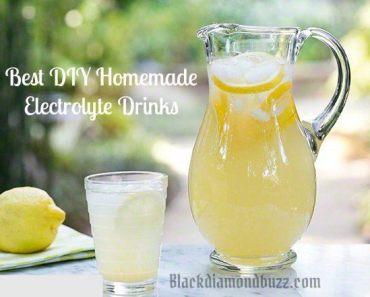 Best Diy homemade electrolyte drinks