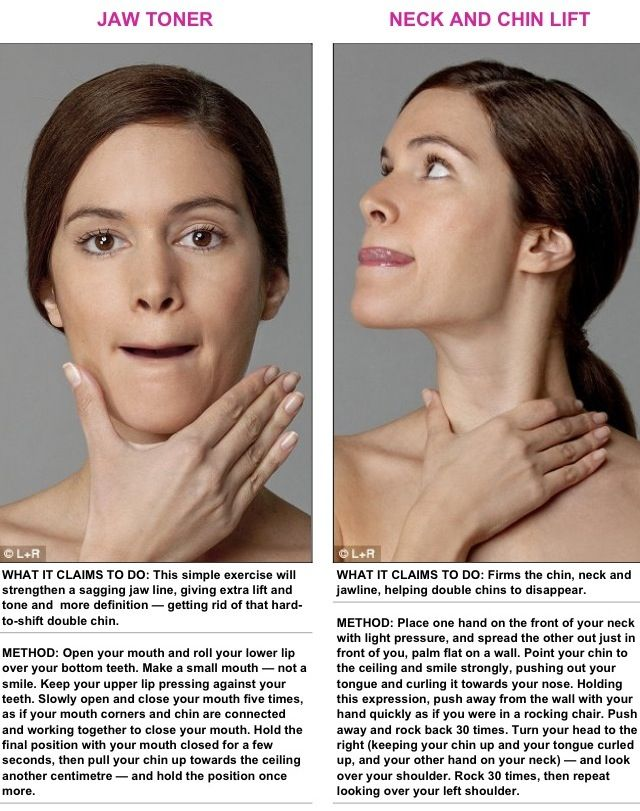 Image of: Modern Body Contouring And Laser Center How To Get Rid Of Neck Fat Fast Exercises And Home Remedies Tips