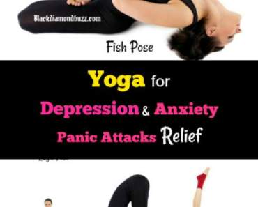 Best Yoga for Depression and Anxiety Panic Attacks Relief