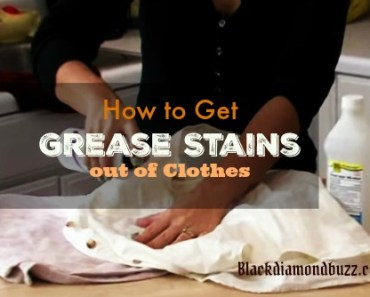 how to get grease stains out of clothes even the set in ones