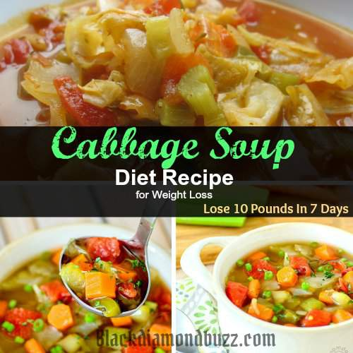 Best Cabbage Soup Diet Recipe For Weight Loss