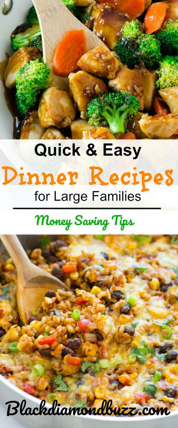 20 Extremely Frugal Meals for Large Families that will Save the Budget