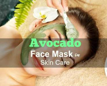 Avocado Face Mask for Skin Care