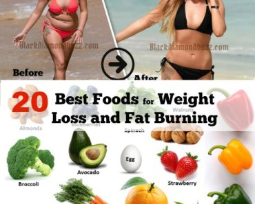 20 Best Foods for Weight Loss – Fat Burning and Metabolism Booster
