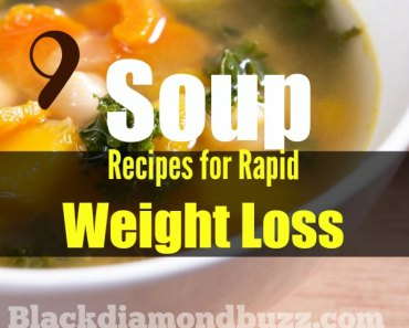 Weight loss soups recipes work effectively by burning all the body fat and detox your gut.By eating these vegetable soup diets for 21 days you will loss up 10 pounds and more.