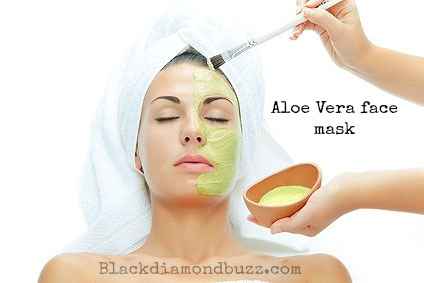 Aloe Vera and Honey Face Mask for Acne