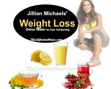 Jillian Michaels' Weight Loss Detox Water for Fast Fat Burning