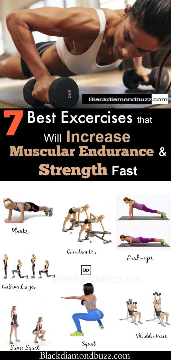 Best Exercise for Muscular Endurance and Strength