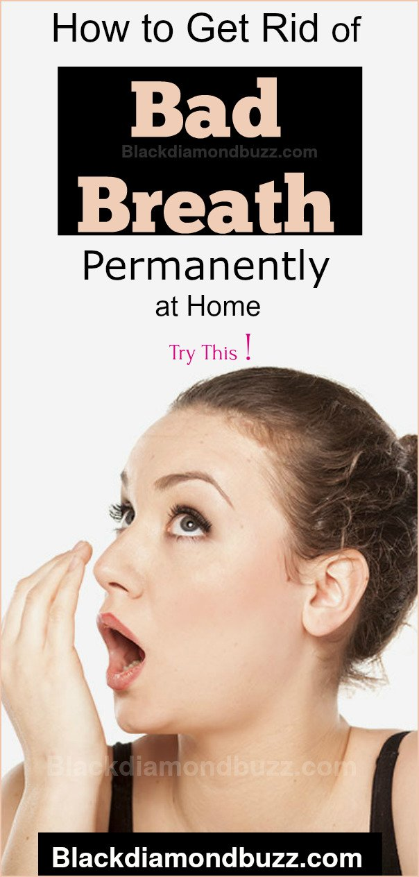 How to Get Rid of Bad Breath Permanently With Homemade Mouthwash Recipes: Baking Soda,