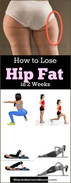 how to lose fat from your hips