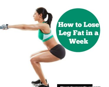 How to Lose Leg Fat in a Week