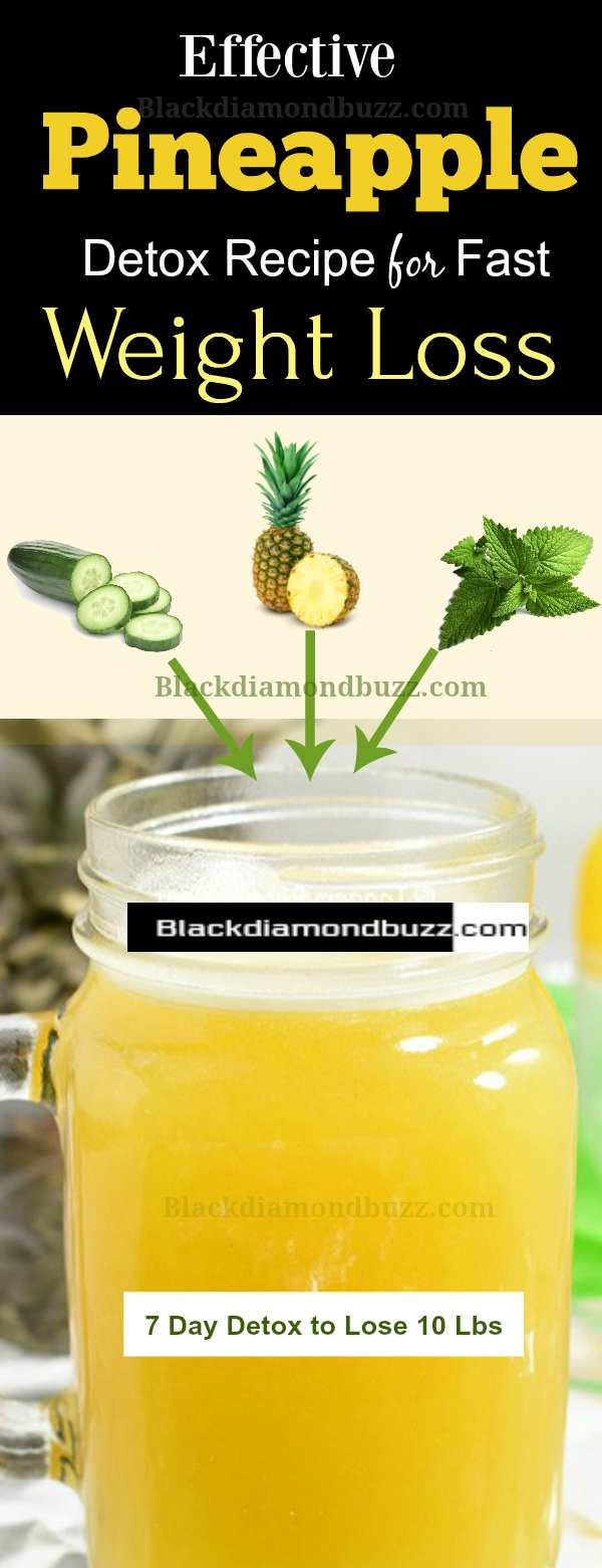 Pineapple for Weight Loss: Best Detox Juice Recipe for ...
