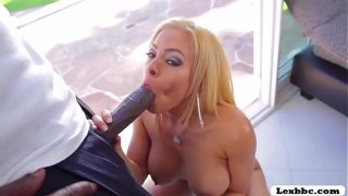 Latina porn queen Luna Star sports a splush BlackBikini and tease Lex
