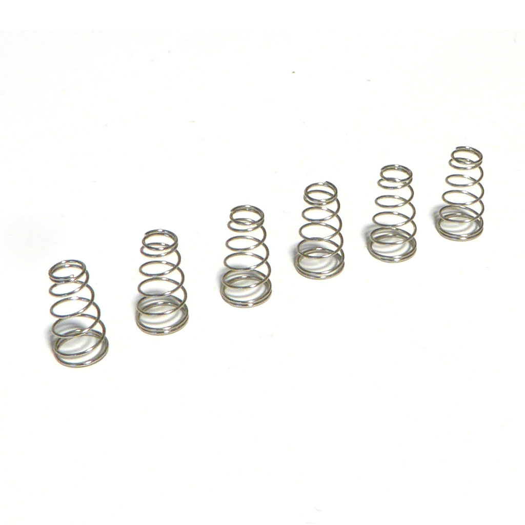 Set Of Screws And Springs For Tremolo Or Bridge Saddles In