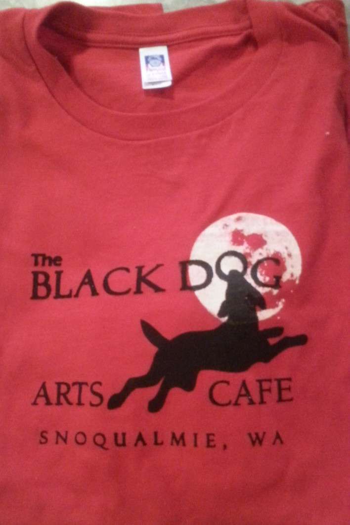 Black Dog Toddler T-Shirts Image