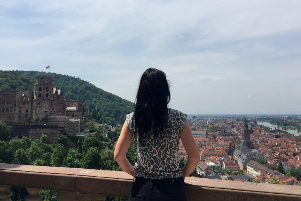 Heidelberg's beste uitzicht over de stad