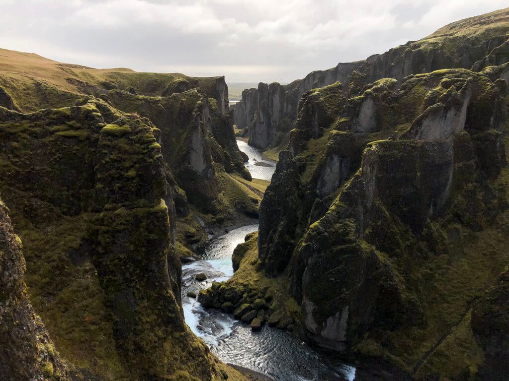 Fjadrargljufur IJsland