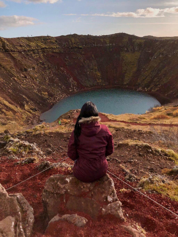 Kerid Crater Island Golden Circle