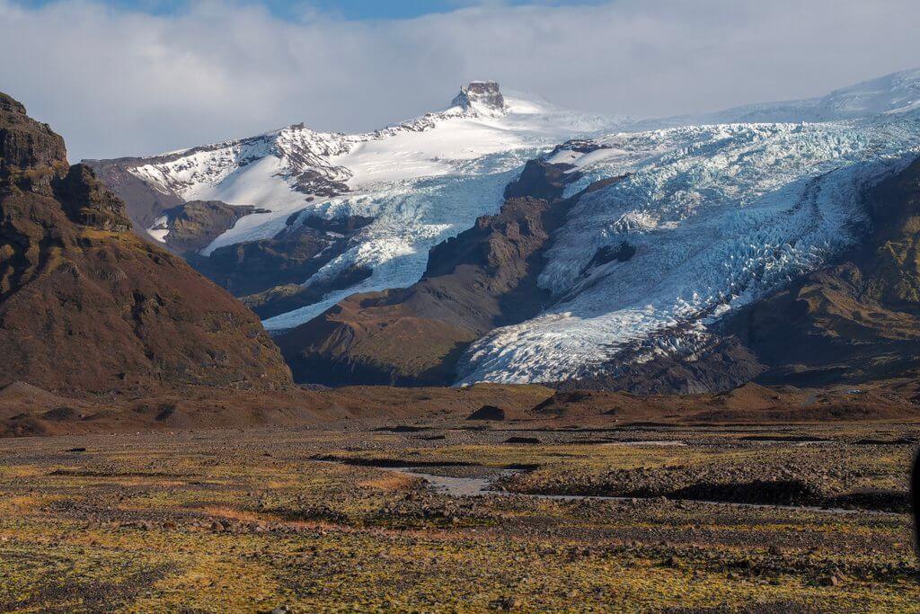 Skaftafell Vatnajokull Nationaal Park IJsland