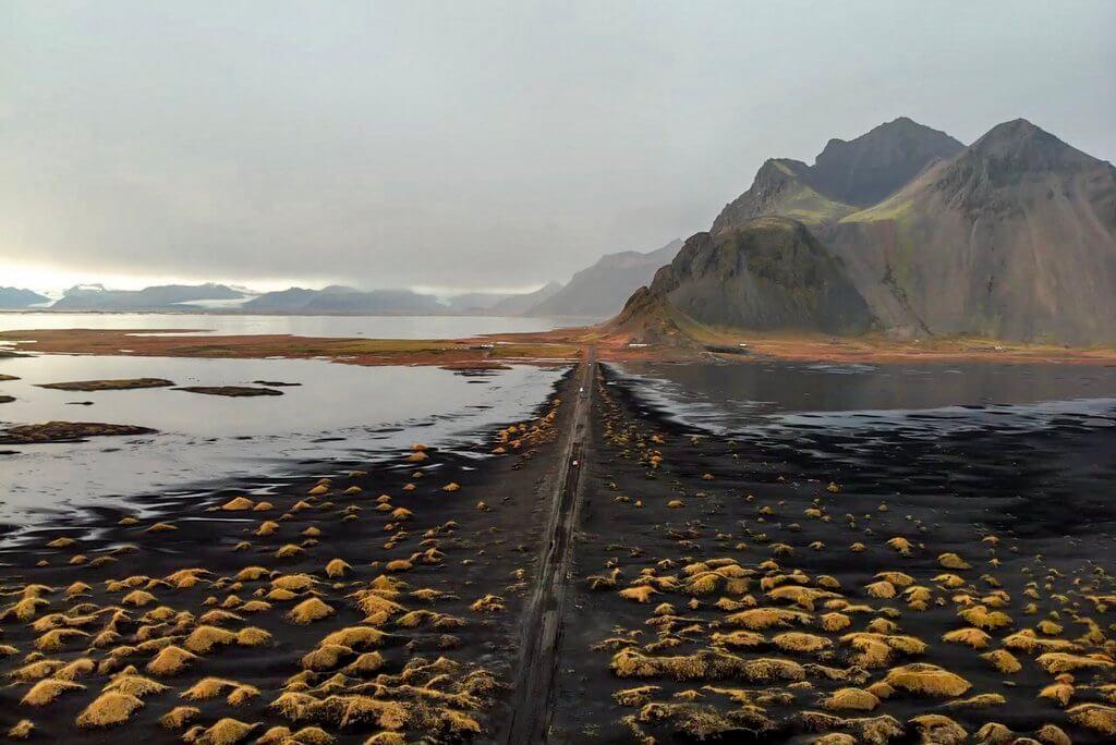 Stokksnes Island ringweg hoogtepunten