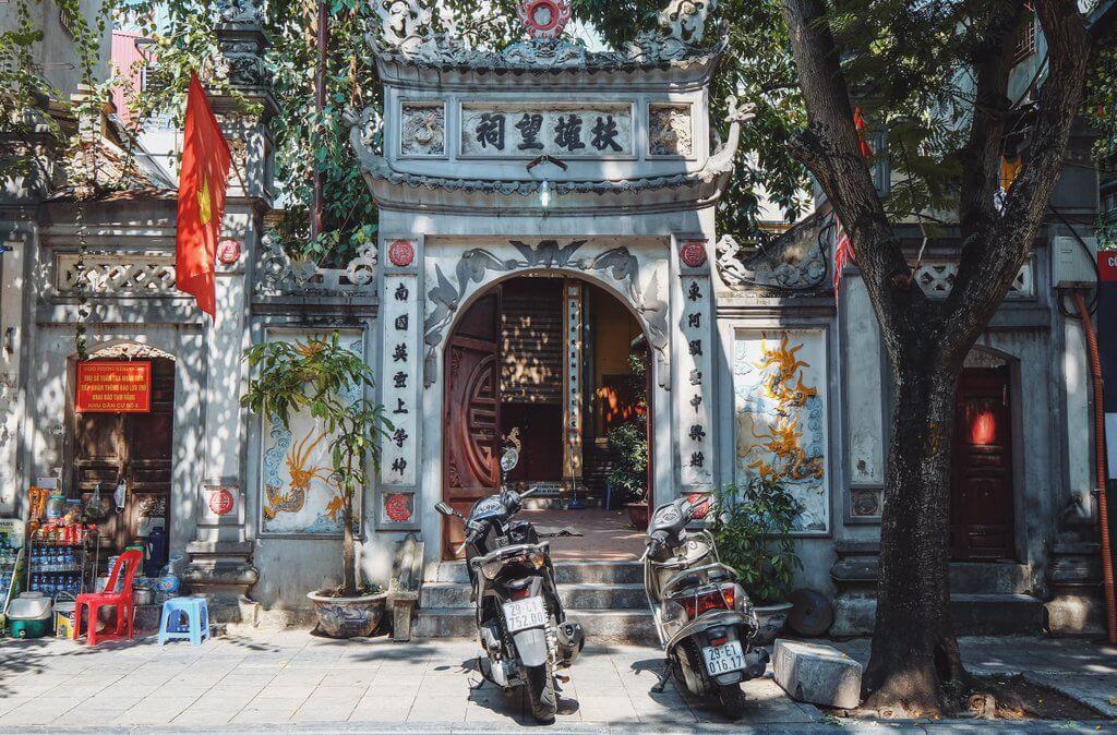 Hanoi tips oude stad