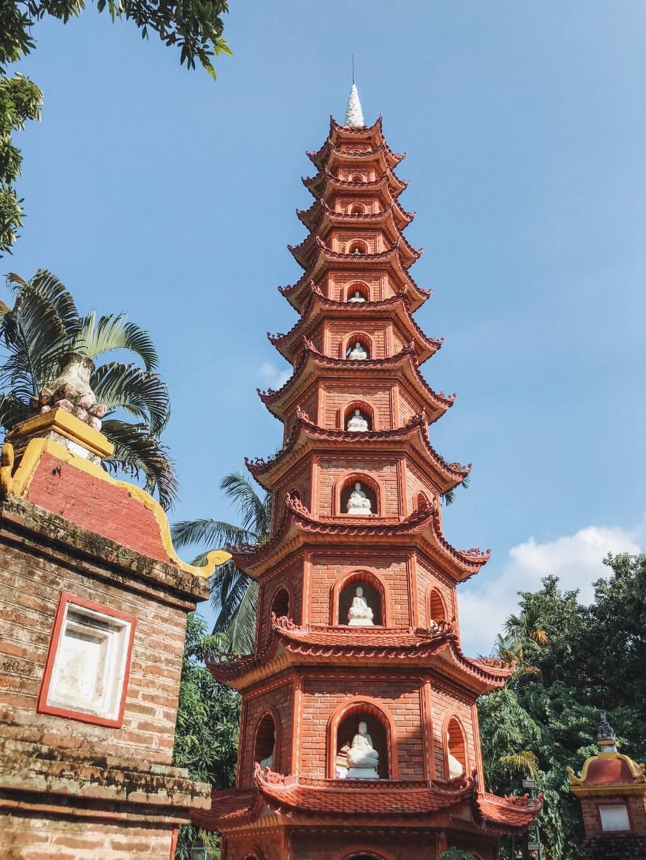 Tran Quoc Pagoda Attracties Hanoi