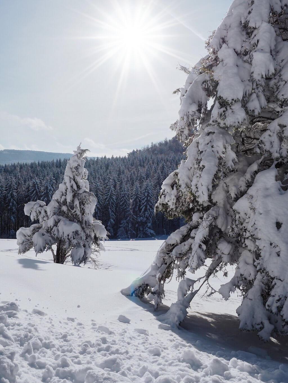 Balingen winterlandschap
