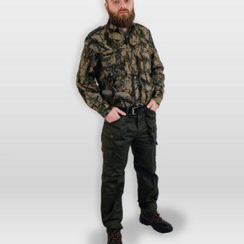 camicia da caccia bosco