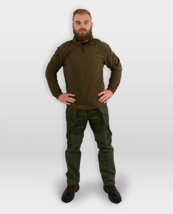 pantalone da caccia verde