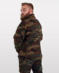giacca pile da caccia