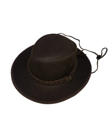 cappello da caccia falda larga in pelle la nuova regina