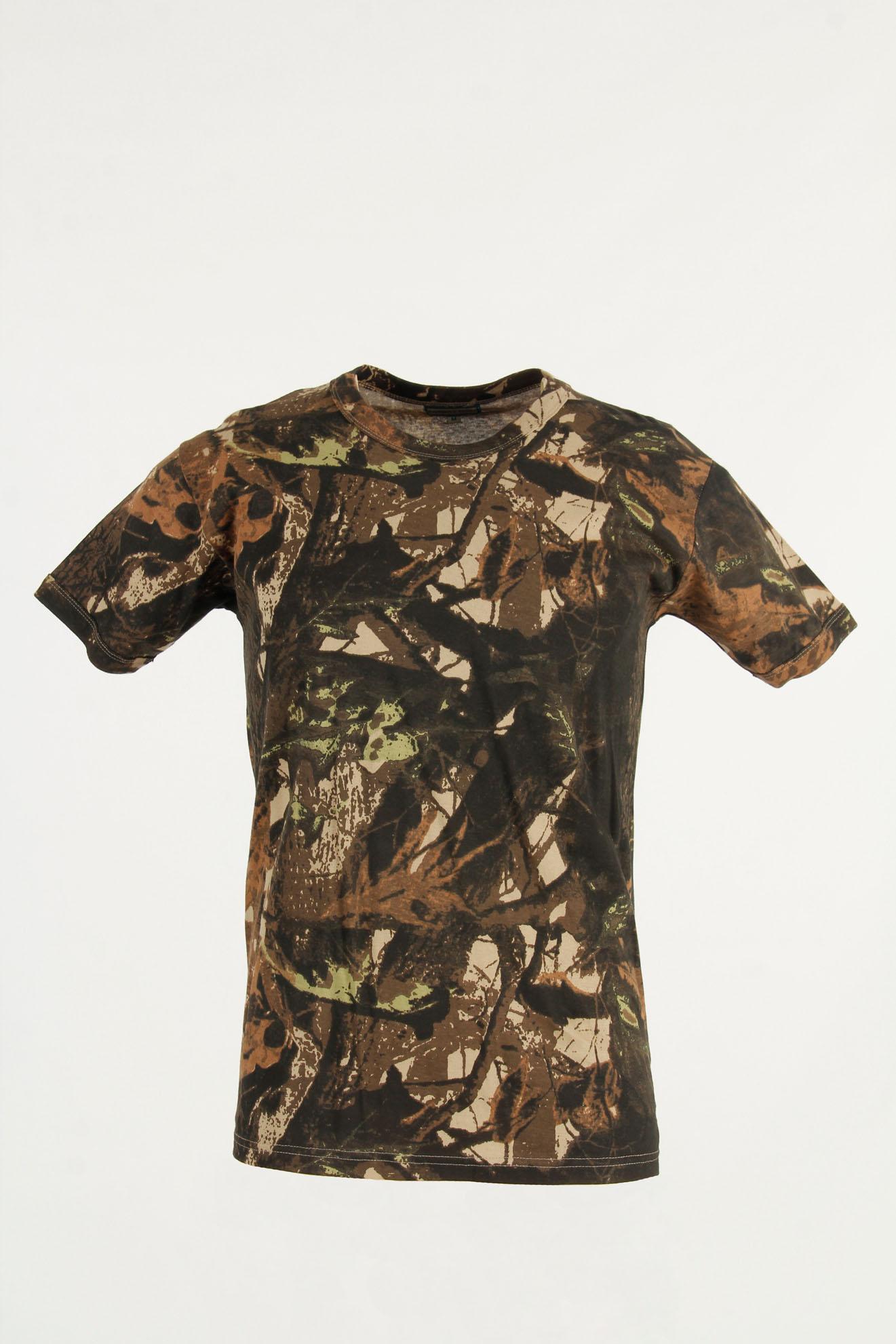 t-shirt da caccia
