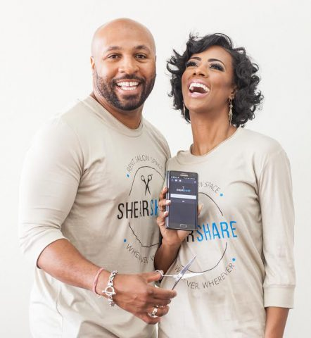 Courtney Caldwell and Dr. Tye Caldwell