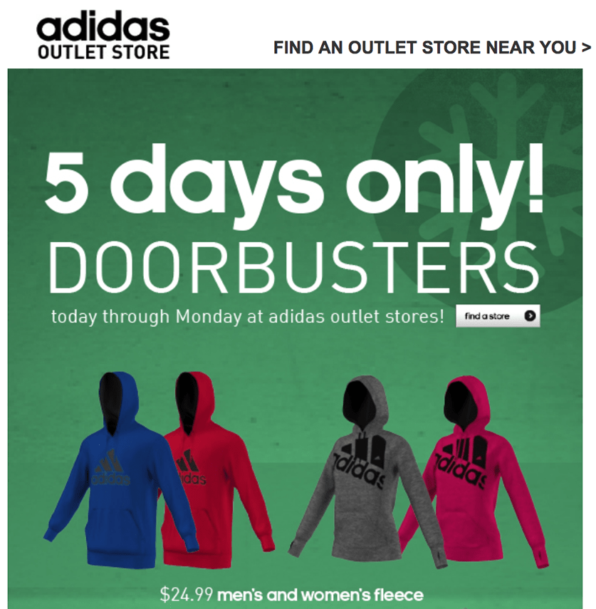 adidas outlet shopping destin
