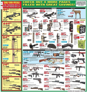 dunhams sports black friday ad scan - page 10