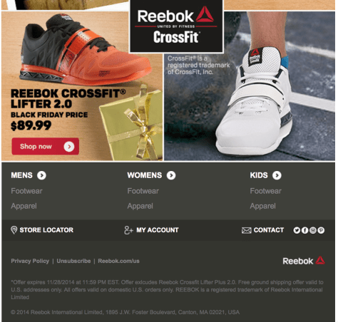 reebok black friday ad scan - page 2