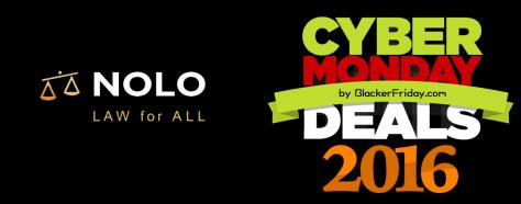 Nolo Cyber Monday 2016