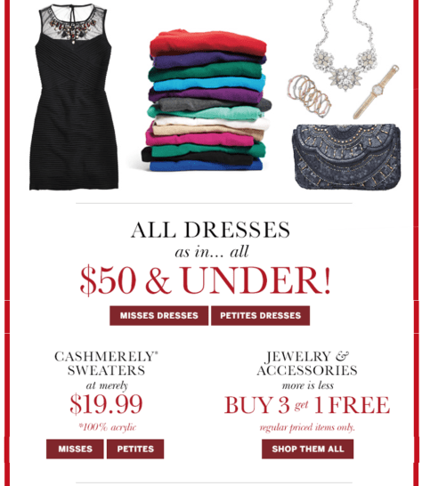 dressbarn black friday ad scan - page 2