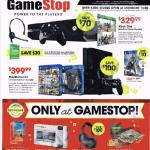 gamestop black friday ad scan - page 1