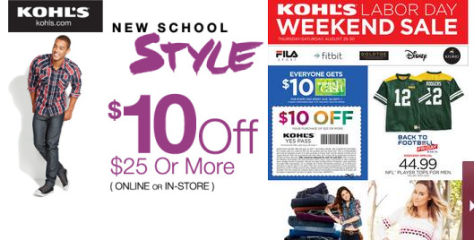 Kohls Labor Day Sale - Page 1