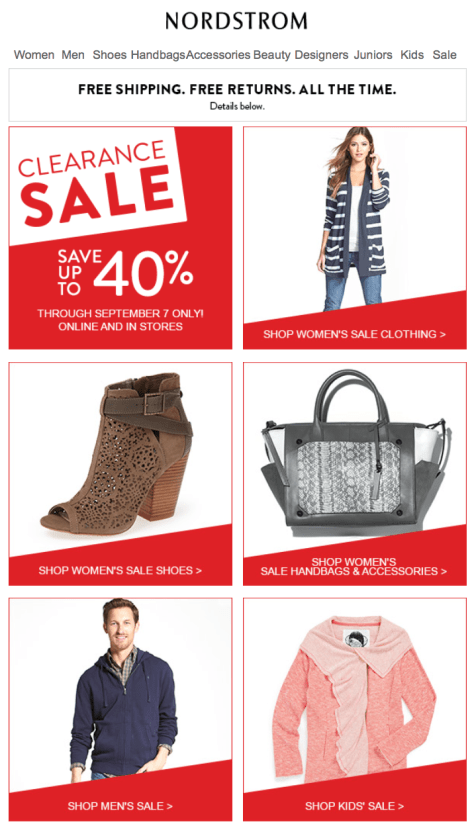 Nordstrom Labor Day Sale - Page 1