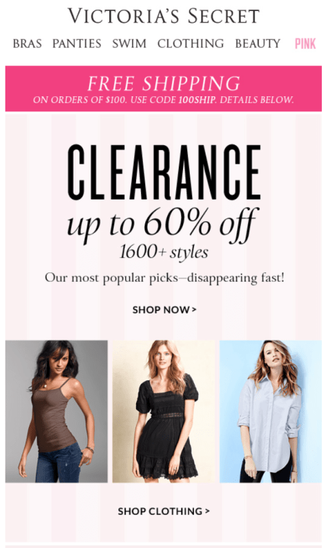 Victorias Secret Labor Day Sale - Page 1