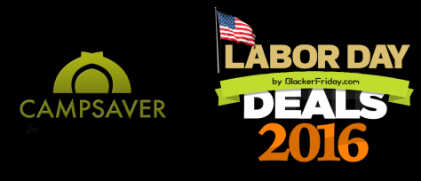 CampSaver Labor Day Sale 2016