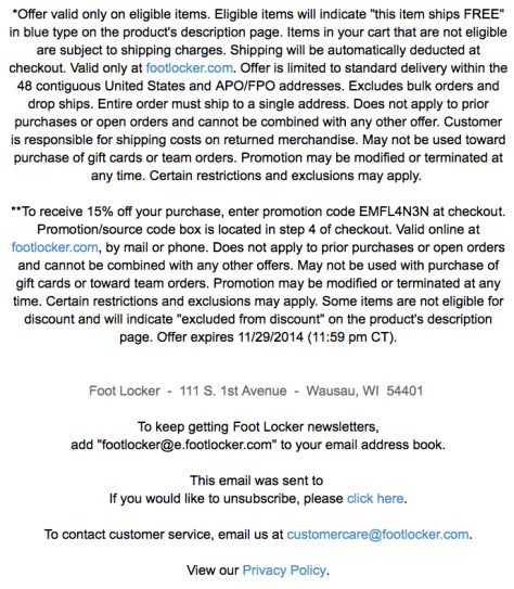 Footlocker Black Friday Ad - Page 2